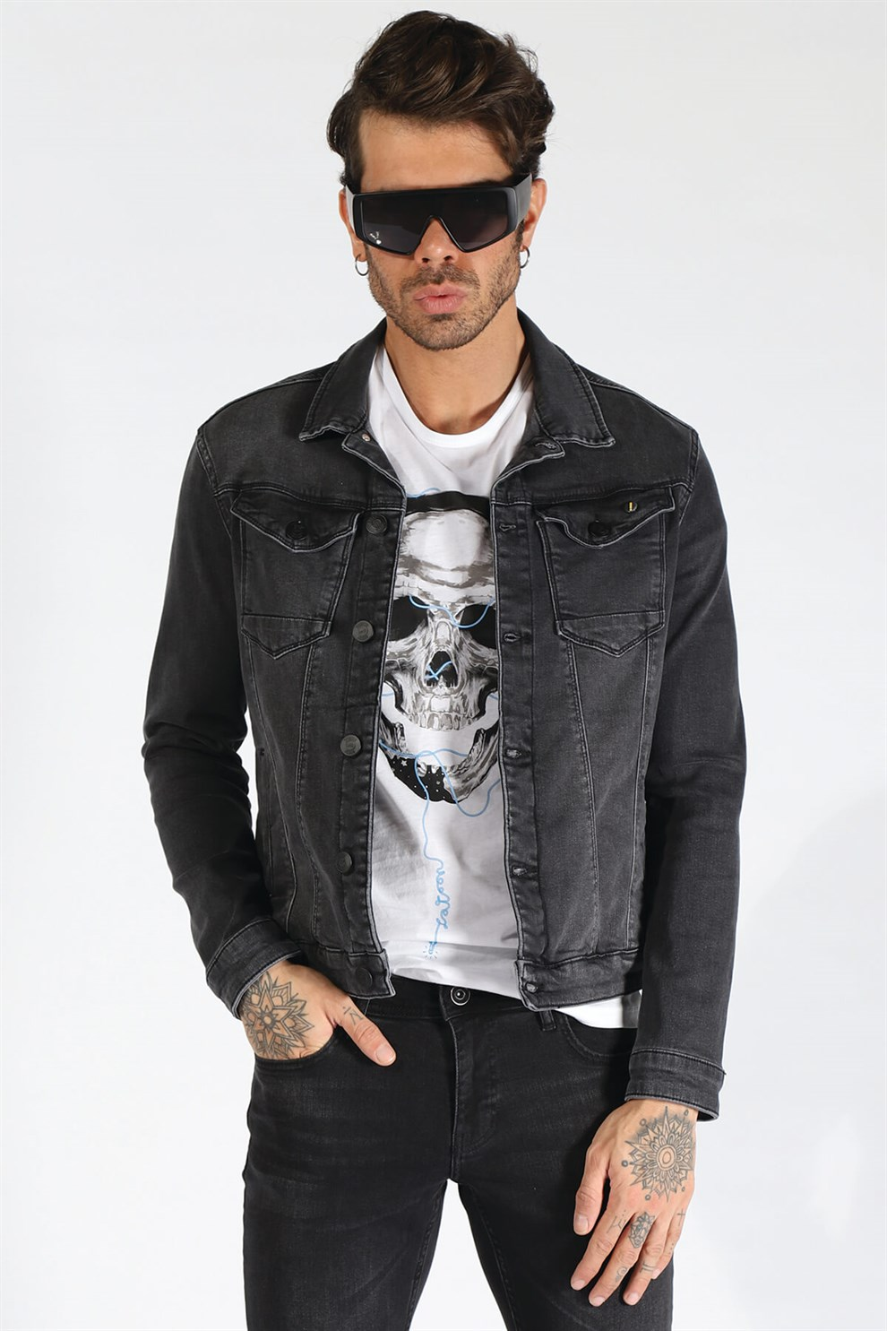 Latest style men's jacket (jacket)